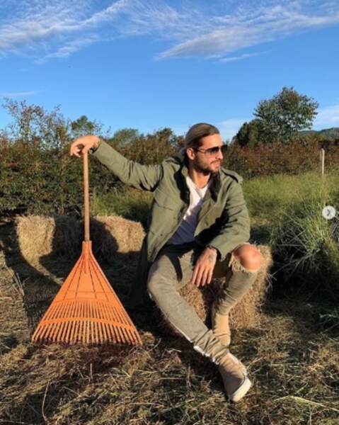 Le chanteur Maluma est dispo pour tous vos travaux de jardinage, en Colombie et ailleurs.
