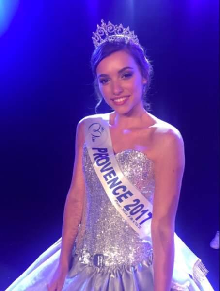 Kleofina Pnishi (22 ans) a été élue Miss Provence à Gogolin le 29 juillet 2017
