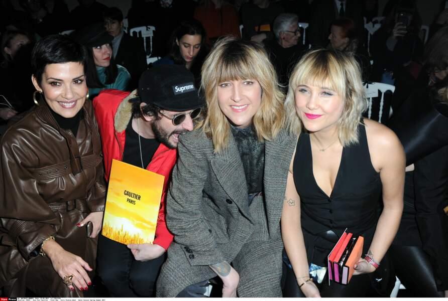 Cristina Cordula, Daphne Burki, Gunther Love et Berengere Krief étaient là aussi !