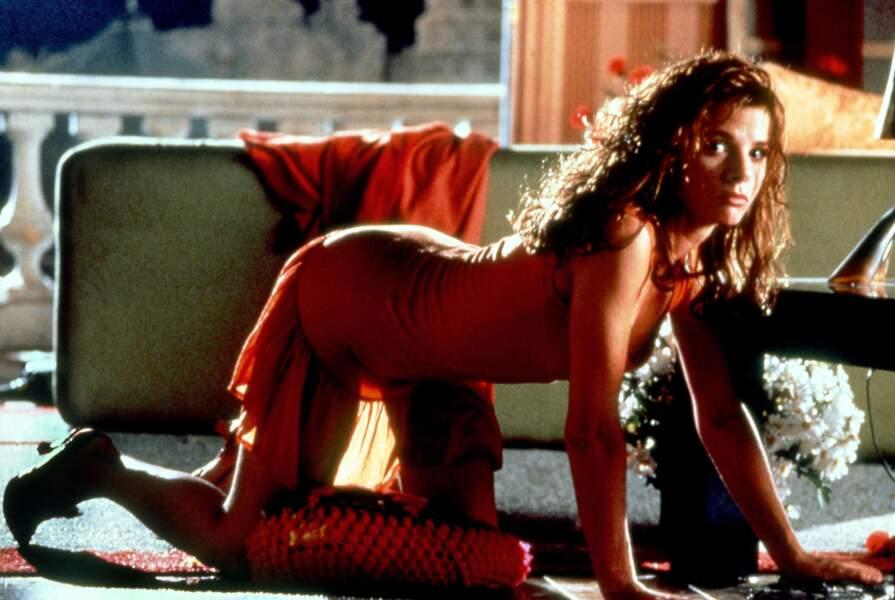 Victoria Abril dans Attache-moi! en 1989. L'actrice deviendra une des nombreuses égéries du réalisateur