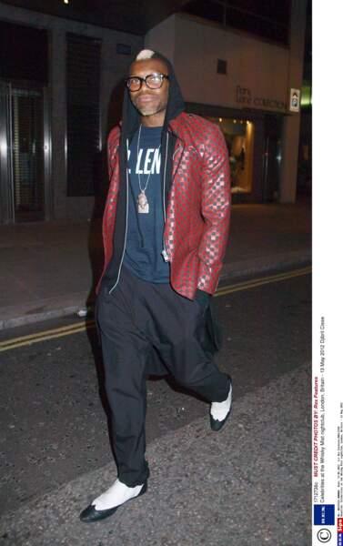 En terme de vestes, Djibril Cissé sait aussi se montrer original !
