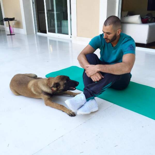 Karim Benzema aussi, il vous présente Blade