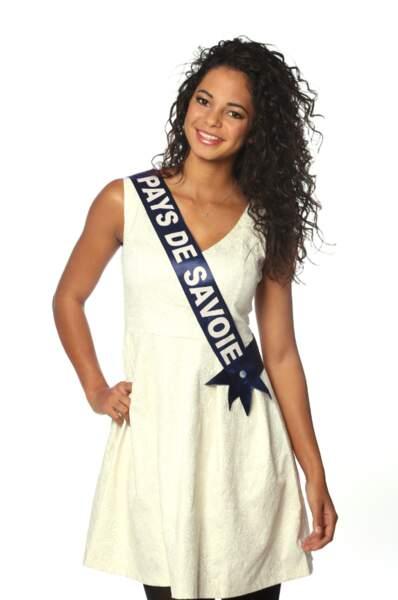 Julie Legros, Miss Pays de Savoie 2013