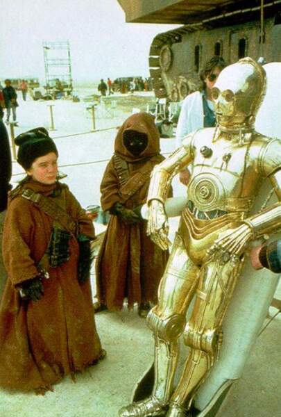 C3PO entre en piste
