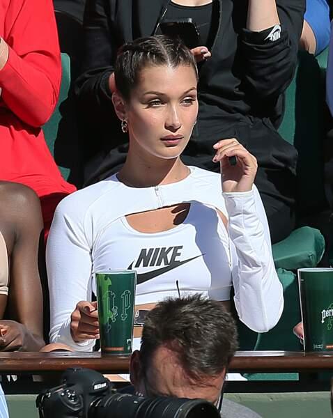 Bella Hadid n'a rien raté de la finale dames