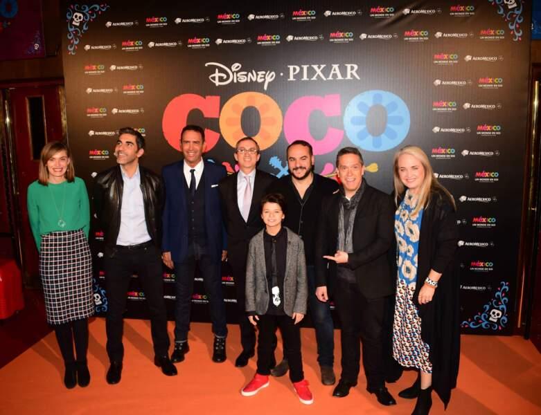 Hier soir avait lieu l'avant-première du nouveau dessin animé des studios Disney-Pixar, Coco