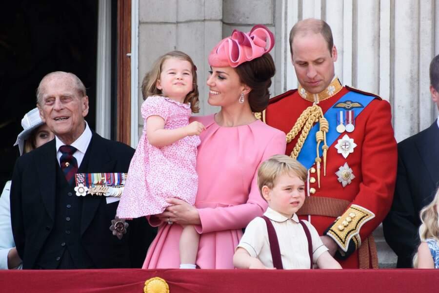 Kate Middleton, totalement gaga de sa petite Charlotte