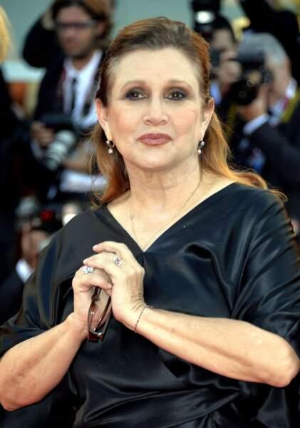Carrie Fisher, la plume plutôt que les projecteurs
