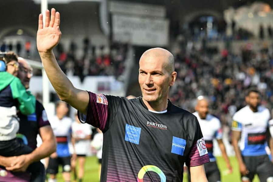 Et il y avait du très beau monde, à l'image de Zinédine Zidane...