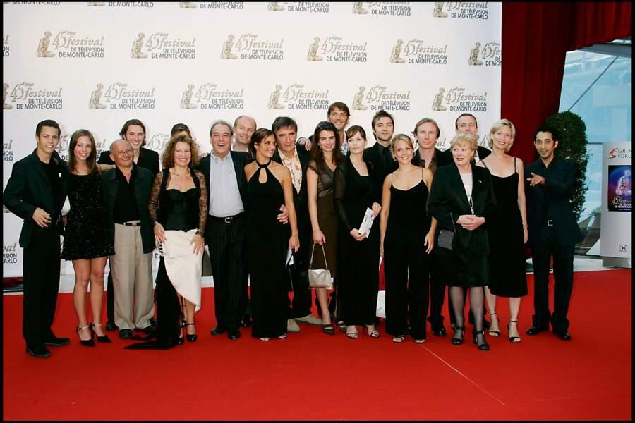 En 2005, l'équipe de Plus belle la vie fêtait le 1er anniversaire au Festival de télévision de Monte Carlo