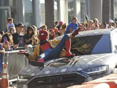 Spider-Man Homecoming : Tom Holland, Zendaya, Robert Downey Jr... une avant-première détendue à Los Angeles
