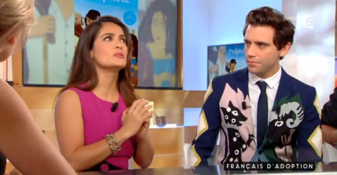 Comme à son habitude, Mika a misé sur une tenue... originale