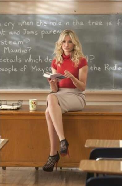 Cameron Diaz joue le rôle d'Elizabeth dans Bad Teacher