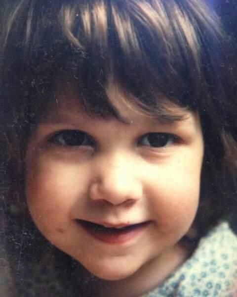 La reconnaissez-vous ? La voici quand elle était enfant !