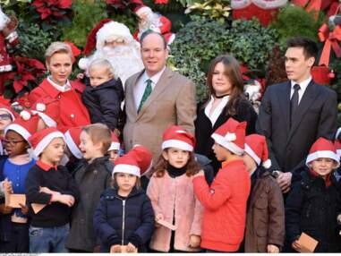 Jacques et Gabriella de Monaco ont enfin vu le Père Noël