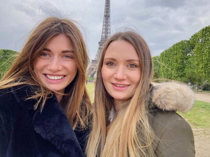 Laurie Marquet et sa sœur Cléa.