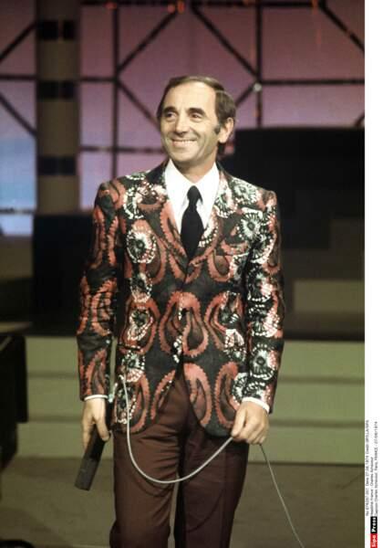 Charles Aznavour en 1974