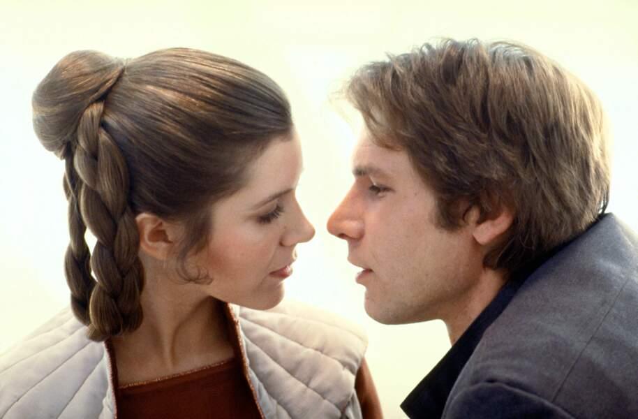 Leia et Han Solo, deux amoureux contrariés (L'Empire contre-attaque)
