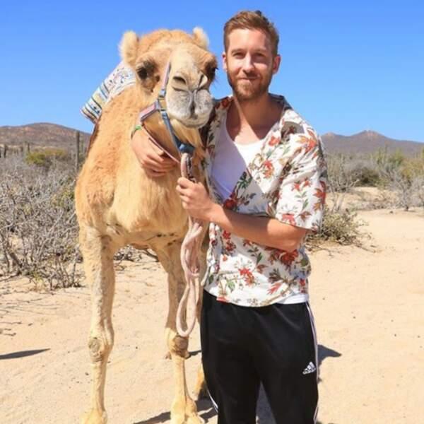 Calvin Harris a un nouveau meilleur ami.