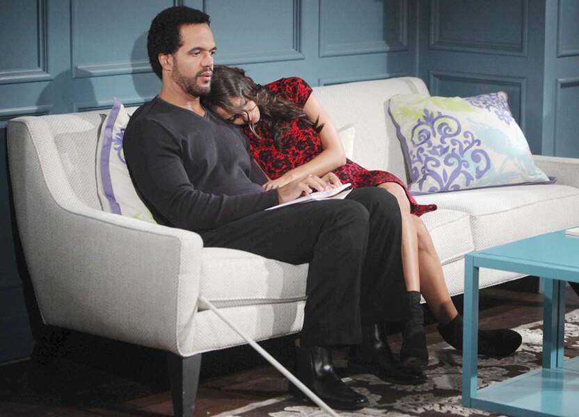 Neil était un véritable papa poule avec sa fille, Lily, jouée par Christel Khalil