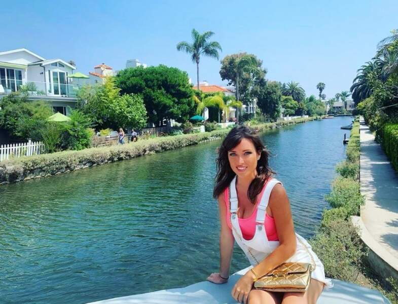Elsa Esnoult était à Venice, à Los Angeles.