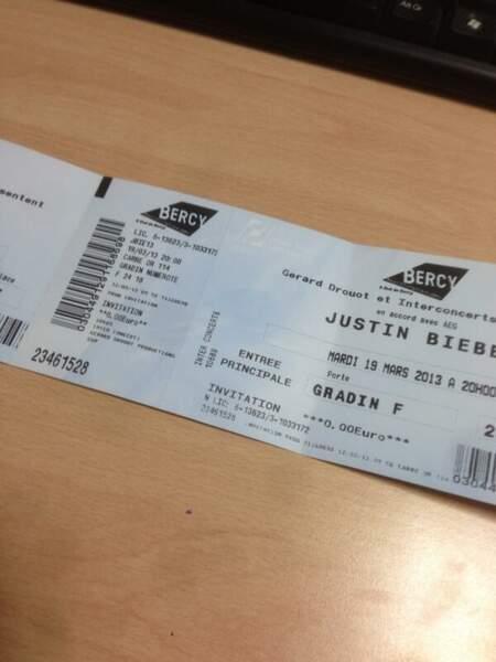 Mais qui est allé voir Justin Bieber en concert ?