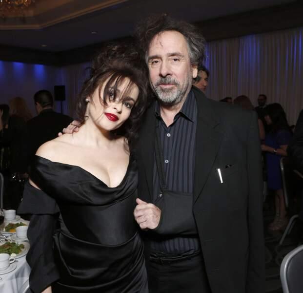 Tim Burton s'entourera de son ancienne épouse, l'actrice Helena Bonham Carter, sur 6 tournages.