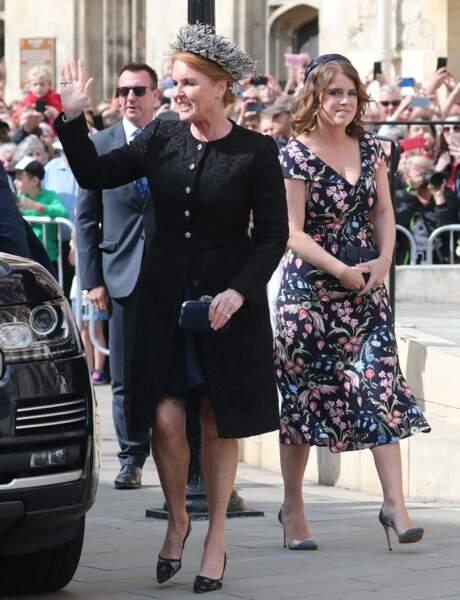 … comme sa mère, Sarah Ferguson, et sa sœur, la princesse Eugénie