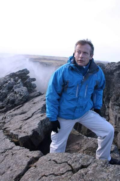Laurent Bignolas, lorsqu'il animait Faut pas rêver (France 3), s'est rendu en Islande
