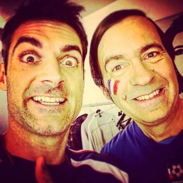 Gil Alma et Thierry Samitier sont déjà au taquet pour la Coupe du Monde de Football.
