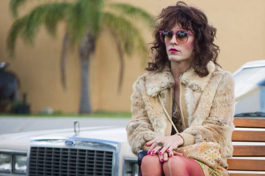 En 2014, Jared Leto enfile bas résilles et perruque pour camper Rayon, travesti toxicomane dans Dallas Buyers Club