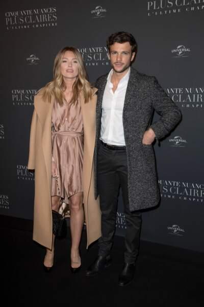 L'influenceuse Caroline Receveur, de sortie depuis l'annonce de sa grossesse, et son compagnon Hugo Philip