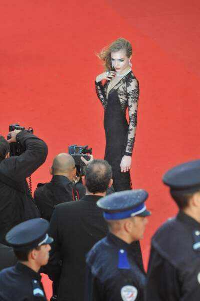 Cara Delevingne, top model du moment et top tout court...