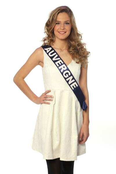 Camille Blond, Miss Auvergne 2013