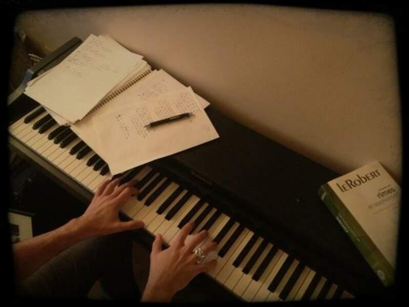 Le secret d'une bonne chanson selon Emmanuel Moire ? Un piano et un bon dico des rimes !
