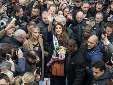 Miss Univers : Iris Mittenaere s'offre un bain de foule à Lille pour son grand retour !
