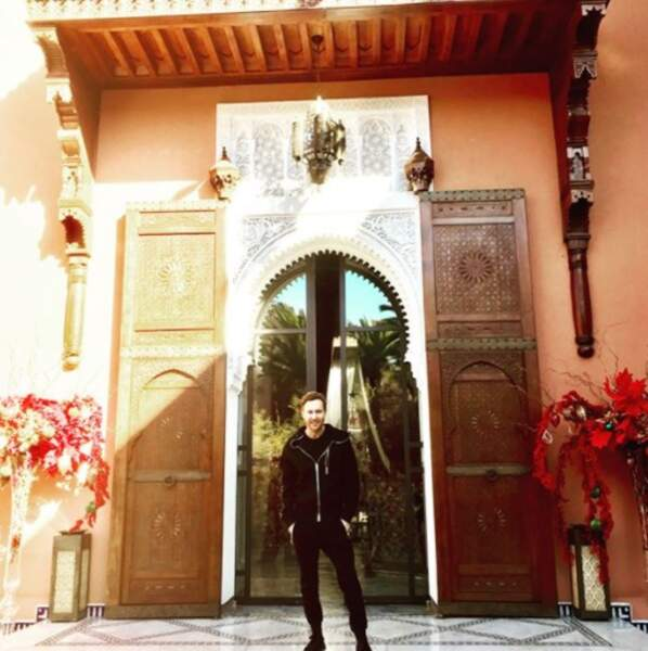 Et David Guetta, lui, a opté pour la chaleur de Marrakech !