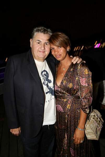Pierre Ménès et sa femme Melissa