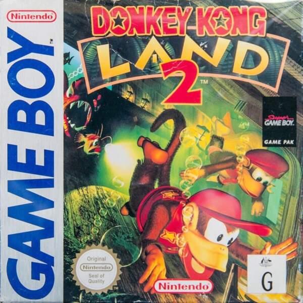 Donkey Kong Land 2 - Game Boy (1996)