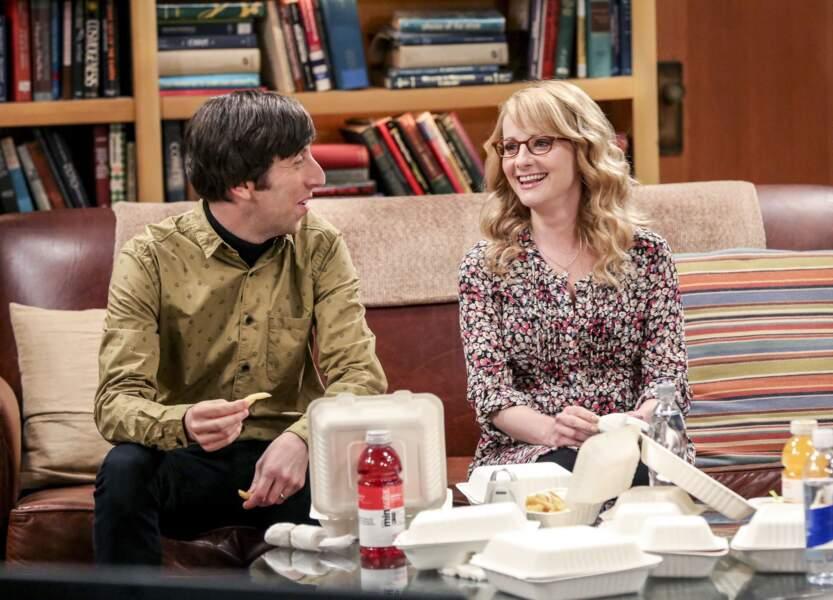 Bernadette a débarqué dans Big Bang Theory à partir de la saison 3
