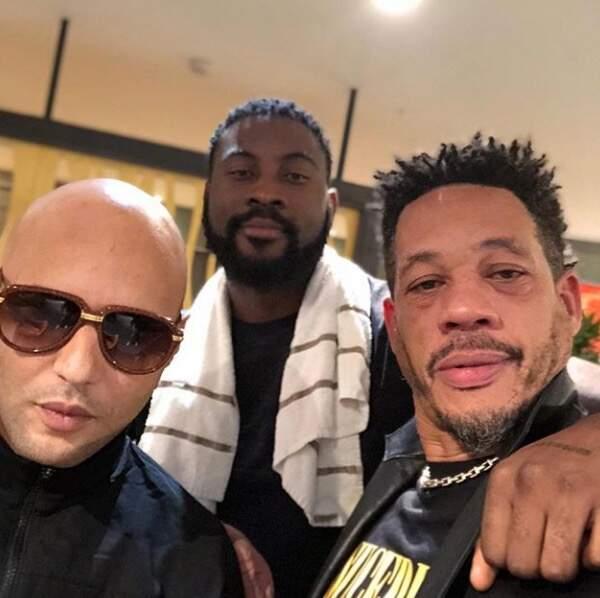 On adore ce selfie entre Damso, JoeyStarr et le rappeur Alkapote