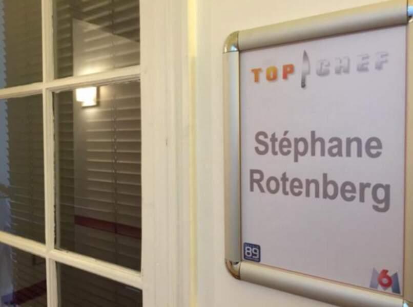 Stéphane Rotenberg a droit à une jolie petite loge !