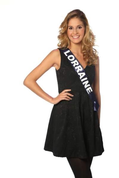 Charline Keck, Miss Lorraine 2013