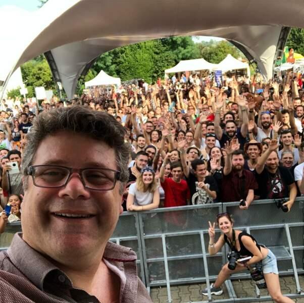 L'acteur américain révélé par les Goonies ici en juillet 2018 lors d'un festival