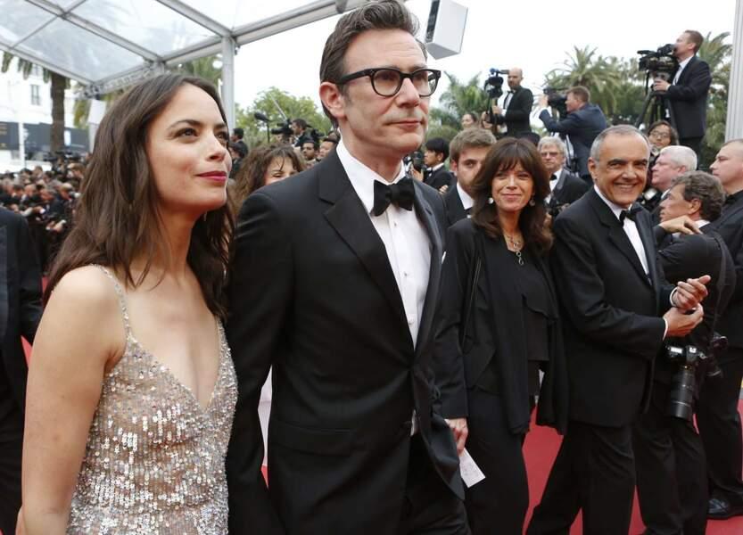 Bérénice Béjo et son réalisateur de mari Michel Hazanavicius