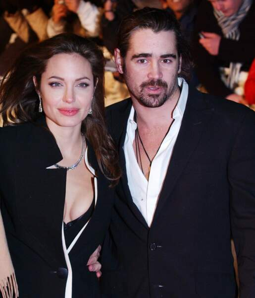 Sur le tournage d'Alexandre en 2004, Colin Farrell et Angelina Jolie auraient fricoté