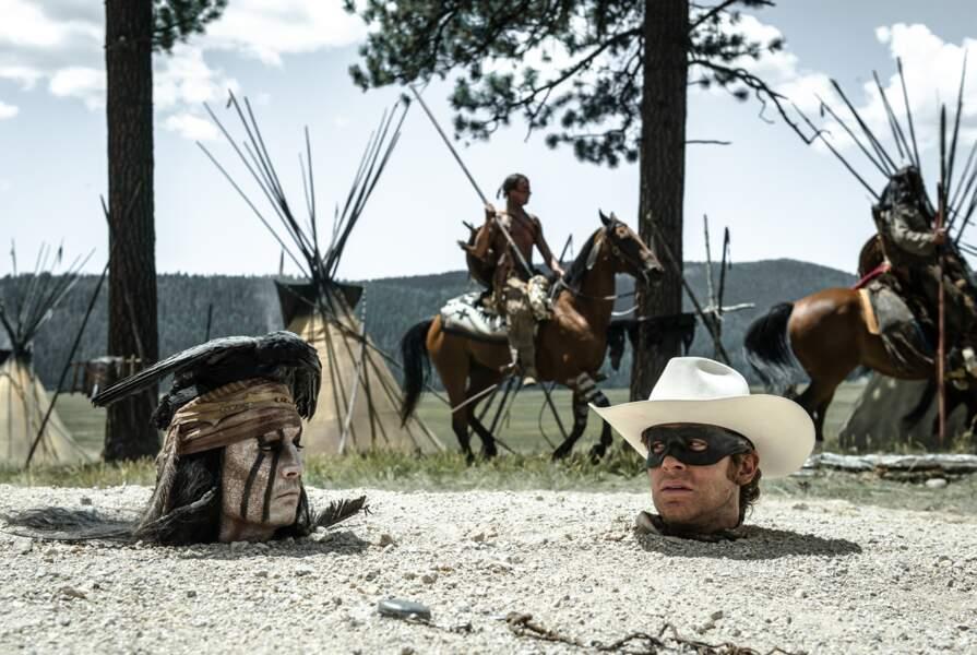 Lone Ranger sera porté, entre autre, par Johnny Depp