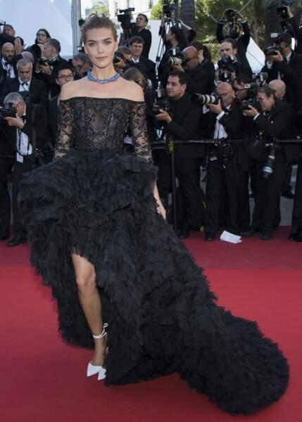 Et on l'a aussi vue à Cannes cette année !