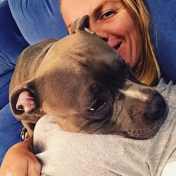 Svetlana Kuznetsova a aussi retrouvé son chien