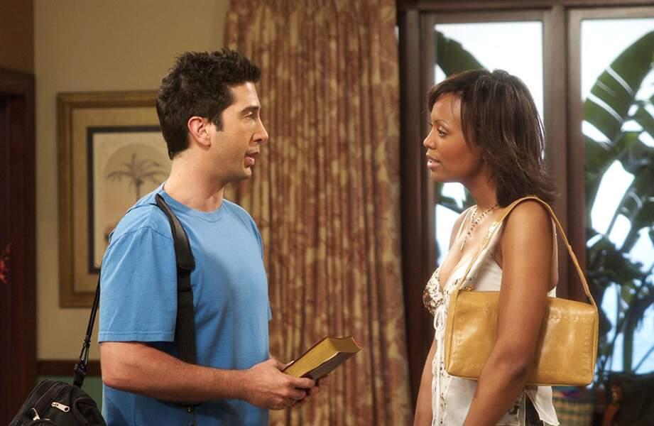 Aisha Tyler interprétait Charlie, pour laquelle Ross et Joey se sont battus pour obtenir les faveurs...